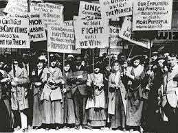 Manifestació de dones