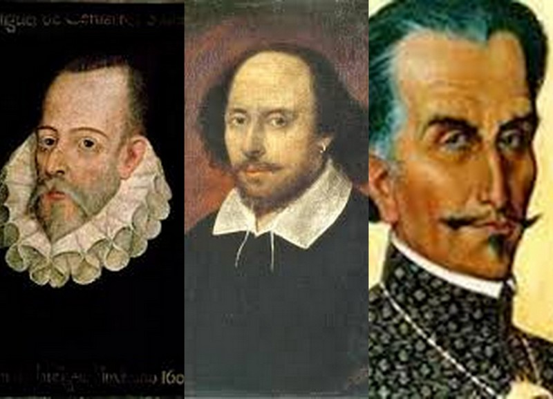 Cervantes, Shakespeare, Inca Garcilaso